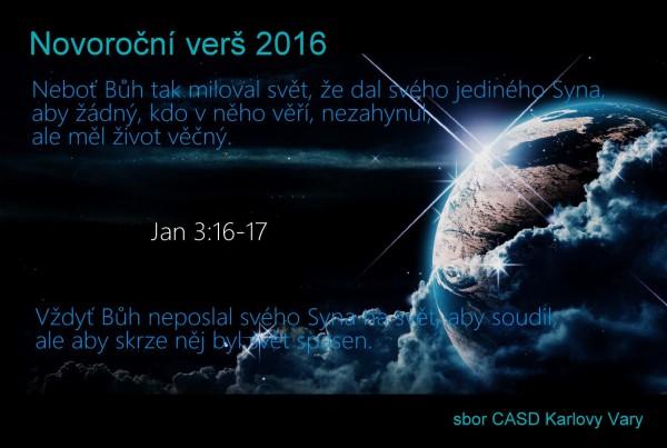 Novoroční verš  2016